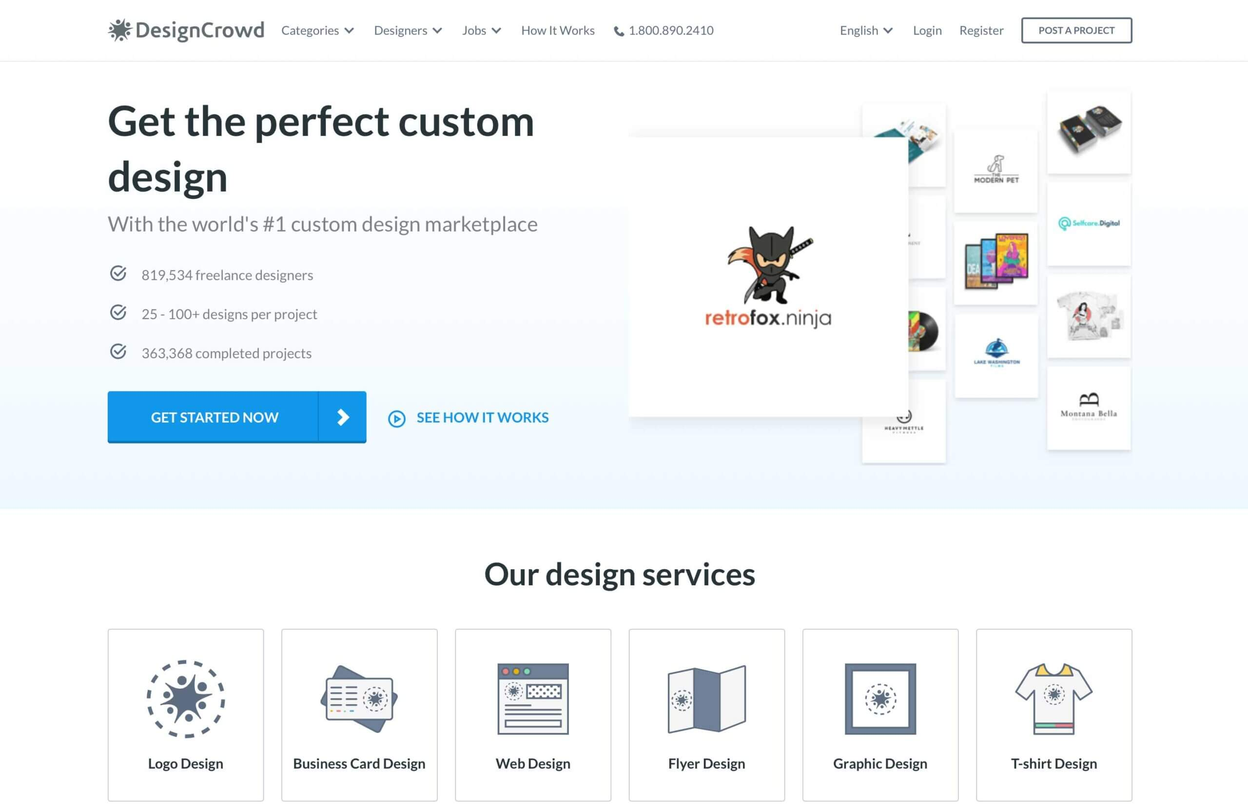 DesignCrowd Review: Crowdsourcing All Your Design Needs