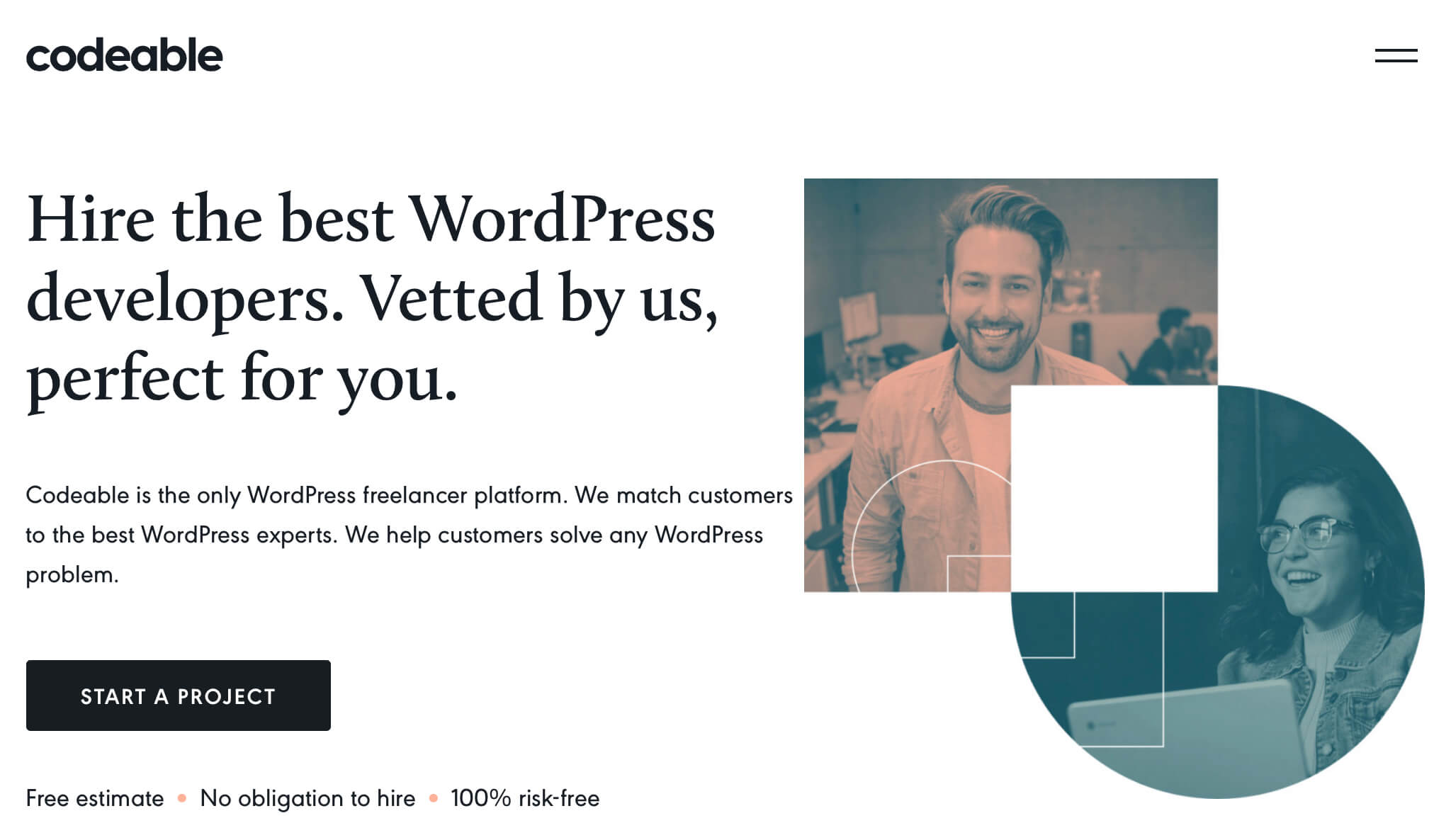 Hire freelance WordPress developers: Codeable.io Review