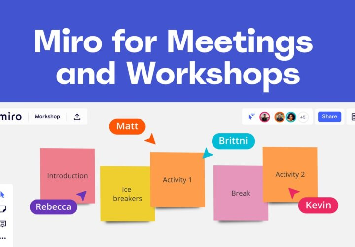 Miro App: The Online Collaborative Whiteboard and Meetings Platform