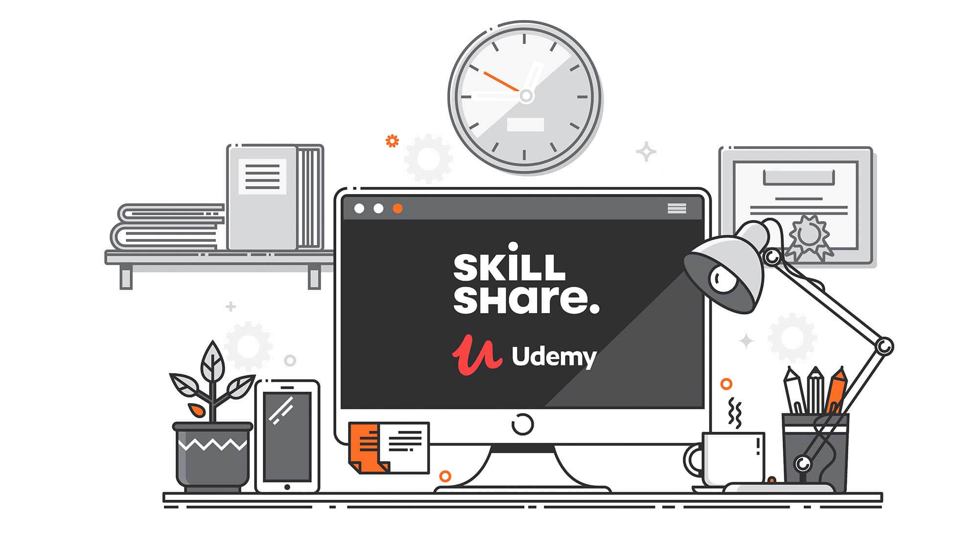 Online Learning Platforms: A Review of Udemy vs. Skillshare