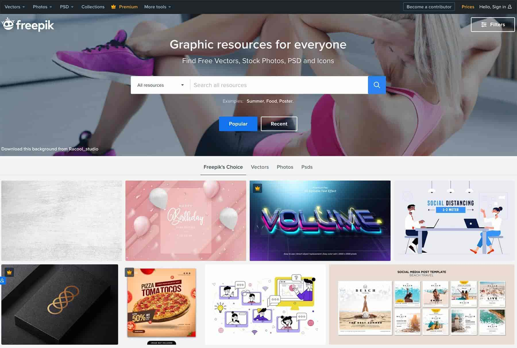 Freepik: A Dynamic Platform for Graphic Resources