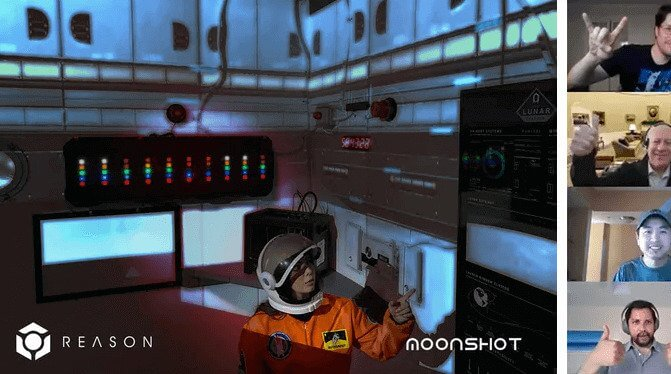 Moonshotº: Video Conferencing and Virtual Escape Rooms