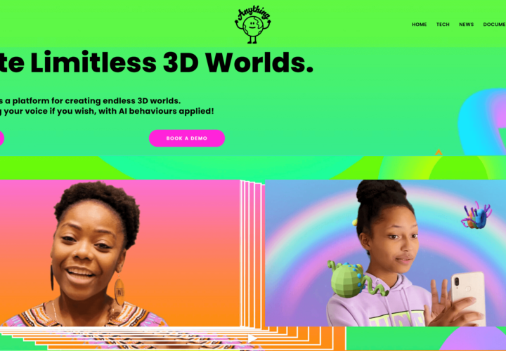 Anything World: Build a 3D World With AI Using Your Voice