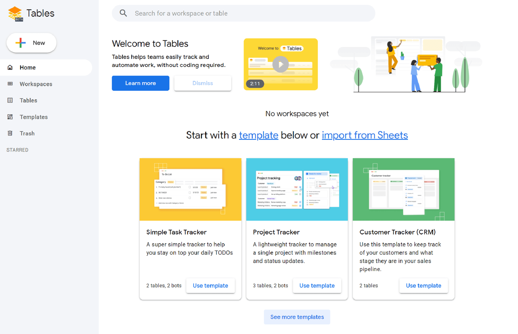 Google Tables: Optimize and Automate Your Workflow