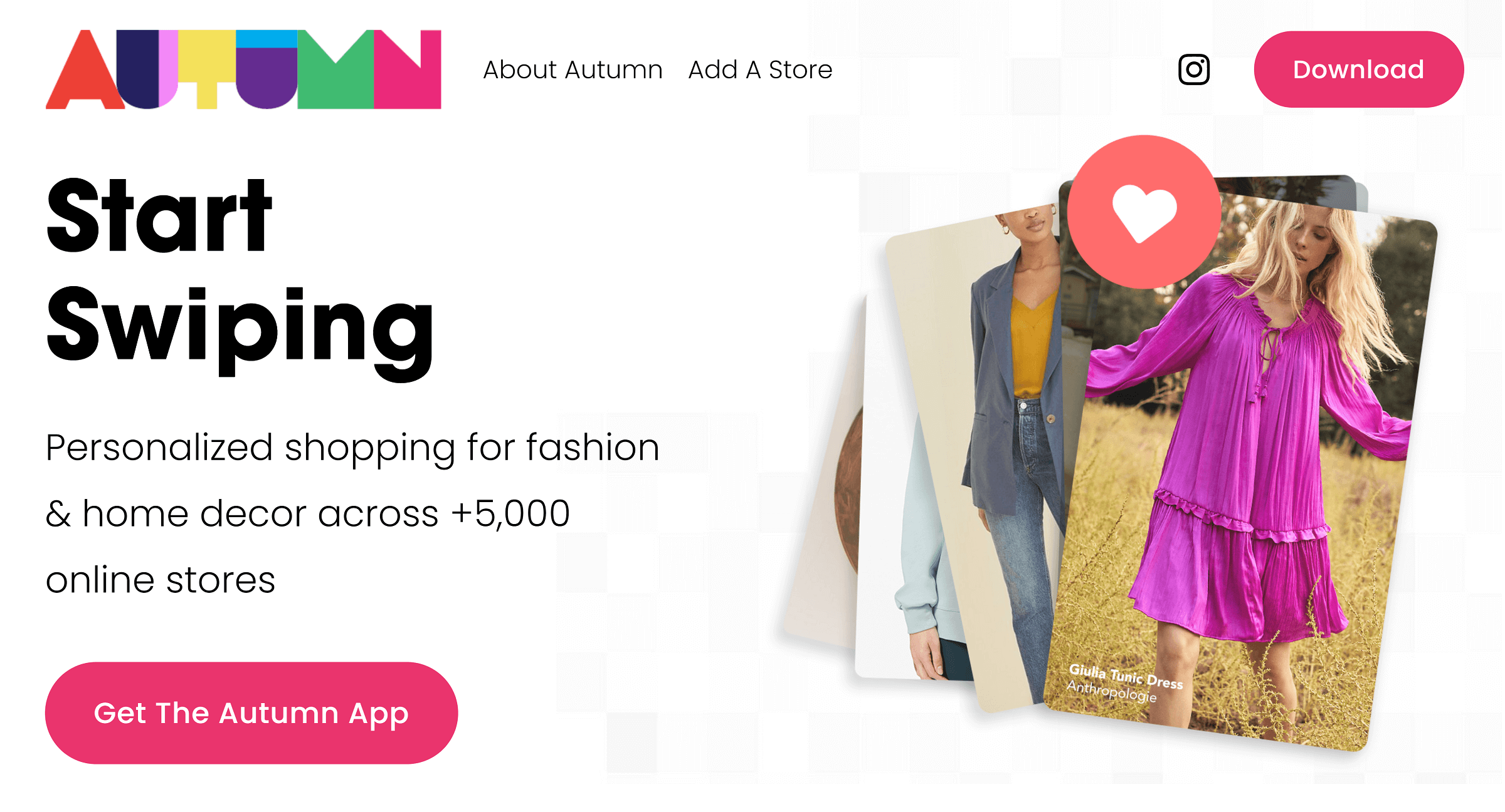 Autumn: Do All Your Shopping With Over 5,000 Stores in One Place