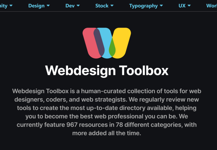 Webdesign Toolbox: Find The Perfect Web Development Tools