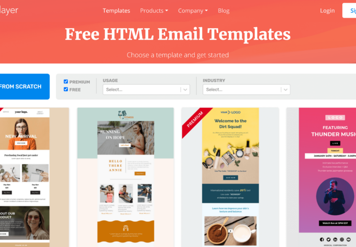 Email Templates by Unlayer: Get Over 600 Responsive Email Templates
