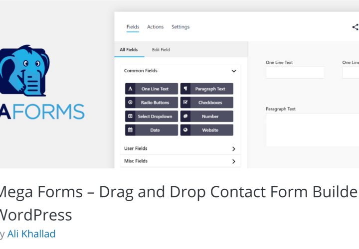 Mega Forms: Create Advanced Contact Forms for WordPress Quickly