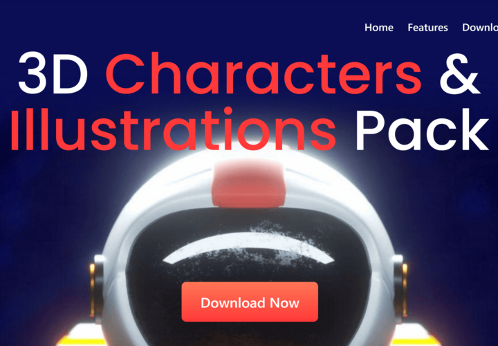 3D Characters & Illustrations Set from ByPeople: Get High-Res 3D Characters and Illustrations