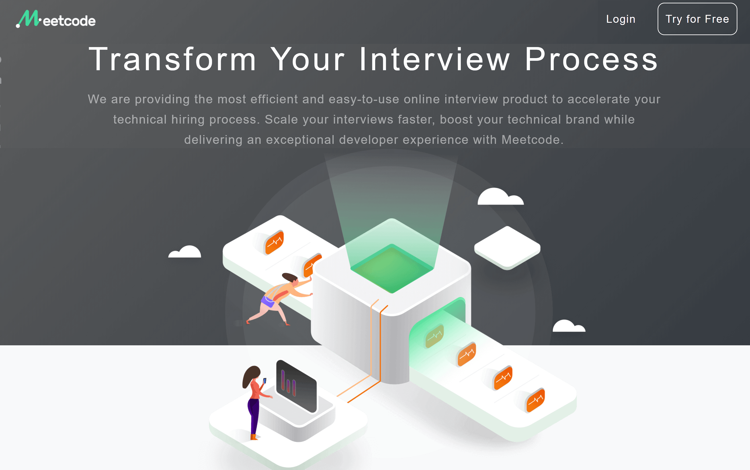 Meetcode: Hire top developers with online code interview
