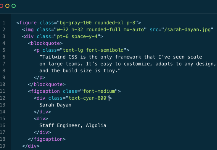 Tailwind CSS: Build Modern Websites Without Leaving HTML