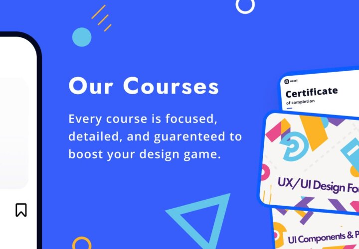 Take Design Courses and Lessons with Uxcel 2.0
